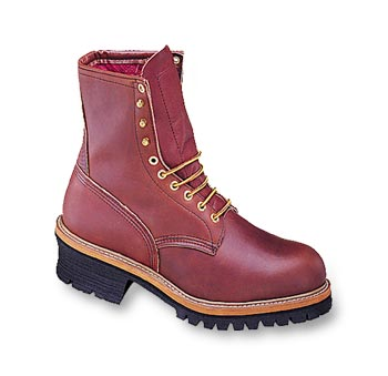 Red Wing Mens 8 Inch Logger Style 4418