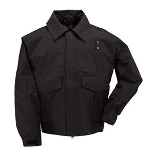 5.11 Tactical 4-in-1 Patrol Jacket, in Black, 48027