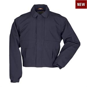 The 5.11 Tactical Softshell Patrol Duty Jacket in Navy - Tactical Jacket