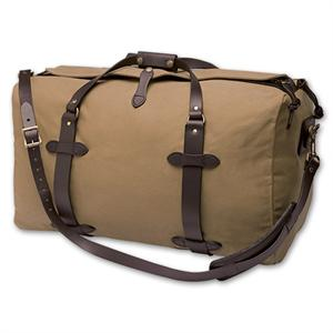 The Tan Medium Duffle Bag by Filson clothing