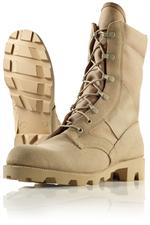Wellco Mens Desert Panama Sole Jungle Boots - Combat Boots