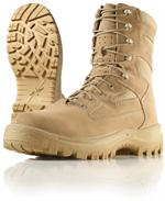Wellco Mens Desert Signature Temperate Weather Tactical Boots - Combat Boots