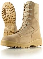 Wellco Mens 8 Inch Hot Weather Steel Toe Desert Combat Boots - Combat Boots