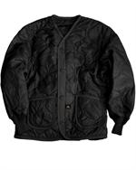 Alpha Jackets MJL48000C1 - ALS/92 Liner for the M65 jacket, Black - Leather Bomber Jacket