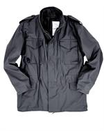 Alpha Industries MJM24000C1 - Authentic US Military M65 jacket, Black - Alpha Jackets