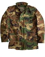 Alpha Jackets -  US Military M65 jacket, Woodland Camo - Army Jackets