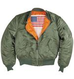 The Alpha industries Ma-1 Blood Chit Jacket - Aviator Jackets
