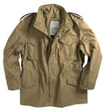 Alpha Authentic US Military M65 jacket, Khaki - Army Jackets