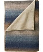 Woolrich Pioneer Reversible Throw- woolrich clothing